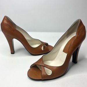 Marc Jacobs Open Toe Detailed Pumps Shoes size 9